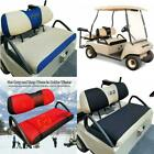 10L0L Golf Cart Seat Covers Set Bench Seat Cover Washable Polyester Mesh Cloth