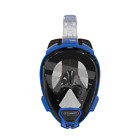 Ocean Reef Aria QR+ High-Quality Swimming Snorkeling Full Face Mask Blue