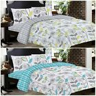 Kensington Duvet Set Quilt Cover Fitted Sheet Pillow Cases or Matching Curtains