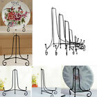 """4"""" - 12"""" Sturdy Iron Easel Classic Display Stand Plate Trophies Photo Frame JS"""