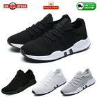 Mens Womens Breathable Trainers Lace Up Sports Gym Sneakers Mesh Shoes Size 3-11