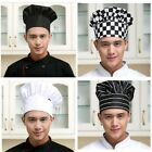 Unisex Kitchen Chef Hat Adjustable Elastic Baker Cap Cooking Catering Tool 1Pcs