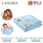 """48""""X60"""" / 36""""X48"""" Weighted Blanket For Kids 5/7/10 Lbs Cool Heavy Sleep Blanket image"""