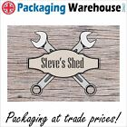 SHED SIGN PERSONALISED CAVE  PUB GARDEN GIFT IDEA