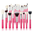 Jessup Makeup Brushes Professional Kabuki Foundation Face Eyeshadow Contour Hair