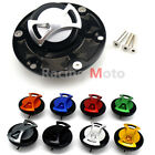 Fuel Gas Tank Cap Cover Aluminum Keyless For KTM Supre Duke Adventure 990 950S R $23.35 USD on eBay