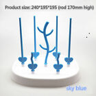 Baby bottle drying rack simple tree cleaning bracket water absorber detachable