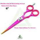 PINK COLOR HAIRDRESSING & HAIRCUTTING SCISSORS BARBER CUTTING SCISSORS TOOLS