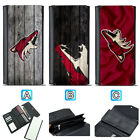 Arizona Coyotes Leather Wallet Purse Clutch Trifold Women Handbag $16.99 USD on eBay