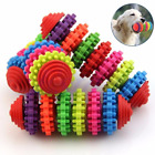 Small Dog Toy Puppy Dental Rubber Teething Play Pet Train Chew Ring Healthy Gum