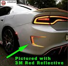 REFLECTIVE  Custom Rear Bumper Vent Decals Fits Dodge Charger 2015-2020