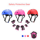7Pcs Kids Sports Protective Gear Set Safety Pad Helmet Knee Elbow Wrist for Bike image