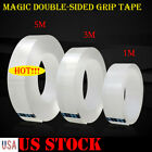 Kyпить Magic Double-sided Grip Tape Traceless Washable Adhesive Gel Nano Invisible Tape на еВаy.соm