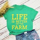 Life is Better on the Farm shirt, Southern tees, Gift for her, Farmer shirt