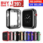 Flexible Bumper Electroplate Protector Case for Apple Watch Series 4 3 2 1 8#6 image