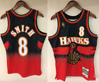 Steve Smith Atlanta Hawks Mitchell & Ness NBA 1996-1997 Authentic Jersey HWC