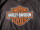 Dudley Perkins Co. Harley-Davidson Black Bar & Shield T-Shirt ***BRAND NEW*** image