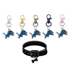 Detroit Lions Pet Tag Collar Charm Football Dog Cat - Pick Your Color $14.99 USD on eBay