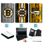 Boston Bruins Leather Wallet Purse Coin Credit Card ID Holde $14.99 USD on eBay