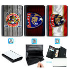 Florida Panthers Leather Wallet Purse Coin Credit Card ID Holde $13.99 USD on eBay