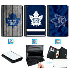 Toronto Maple Leafs Leather Wallet Purse Coin Credit Card ID Holde $13.99 USD on eBay