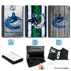 Vancouver Canucks Leather Wallet Purse Coin Credit Card ID Holde $14.99 USD on eBay