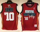 Kanye West My Beautiful Dark Twisted Fantasy Basketball Hip Hop Rap Jersey Yeezy