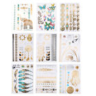 Cute Sexy Gold Waterproof Temporary Tattoo Stickers Necklace Bracelet Tatto nGX $4.67 USD on eBay