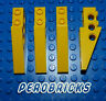 More images of Lego Engineering Technic 4 x 3-Loch Angled Stone Wings 1x6 Yellow #2744