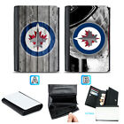 Winnipeg Jets Leather Wallet Purse Coin Credit Card ID Holde $14.99 USD on eBay