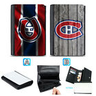 Montreal Canadiens Leather Wallet Purse Coin Credit Card ID Holde $14.99 USD on eBay