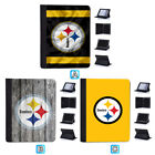 Pittsburgh Steelers Leather Case For iPad Mini 1 2 3 4 Pro 9.7 10.5 Air $19.99 USD on eBay