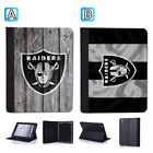 Oakland Raiders Leather Case For iPad Mini 1 2 3 4 Pro 9.7 10.5 Air $19.99 USD on eBay