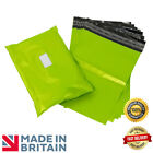 Premium Strong NEON GREEN Mailing Postal Poly Pack Postage Bags UK ALL SIZES