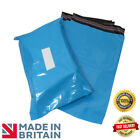 Premium Strong BLUE Plastic Mailing Postal Poly Pack Postage Bags UK ALL SIZES