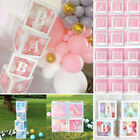 Внешний вид - 12'' Transparent Boxes Storage Balloons Wedding Kid Birthday Baby Shower Decor
