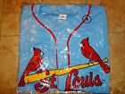 St Louis Cardinals Blue Road Jersey Embroidered Adult M L XL Spfld SGA 7-11-19 on Ebay
