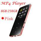 Walkman 8GB-256GB Bluetooth MP4 HIFI MP3 Player FM Radio 64GB Sport Music Player