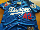 NEW! LA Dodgers Throwback #42 Jackie Robinson special edition SEWN Jersey Men's on Ebay