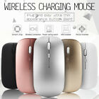 2.4GHz Rechargeable Wireless Mouse Silent Ultra Thin USB Mice for Laptop PC 6C