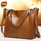 US Women Leather Handbag Lady Shoulder Bag Crossbody Tote Shopper Satchel   image