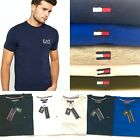 Tommy Hilfiger Men's Short Sleeve Crew Neck T-Shirt Multi Polo Colour Sale Price