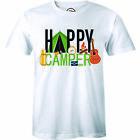 Happy Camper Shirt Funny Camping T-Shirts Cool Vintage Tees Retro Design Tee