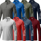 "New Mens Columbia PFG ""Terminal Tackle"" 1/4 Zip Omni-Wick T-Shirt Top Tee Polo image"