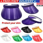 Kyпить Summer Hat Sun Visor Party Casual Hat PVC Clear Plastic Adult Sunscreen Cap USA на еВаy.соm