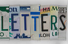 Kyпить MIXED COLOR License Plate Letters for Arts & Crafts Projects Signs Bar Mancave на еВаy.соm