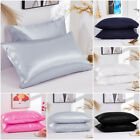 Pure Mulberry Satin Silk Pillowcase Luxurious Soft Sofa Bedding Accessories Real image
