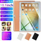 "10.1"" Tablet Pc 6g+64g 10 Core Android 8.1 Dual Sim Camera Wifi Phone Phablet"