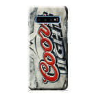 COORS LIGHT BEER Samsung Galaxy S4 S5 S6 S7 Edge S8 S9 S10 Plus S10e 3D Case 2