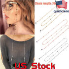 Sunglasses Round Beads Glasses Chain Rope Holder Neck Strap Eyeglass Necklace image
